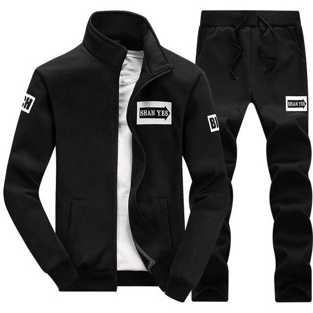 Phù hợp với áo nhãn hiệu 2019 Hip Hop Dài Tay Màu Hoodie Nam Áo Phù Hợp Với Áo Mồ Hôi Áo Khoác Áo Thể Thao