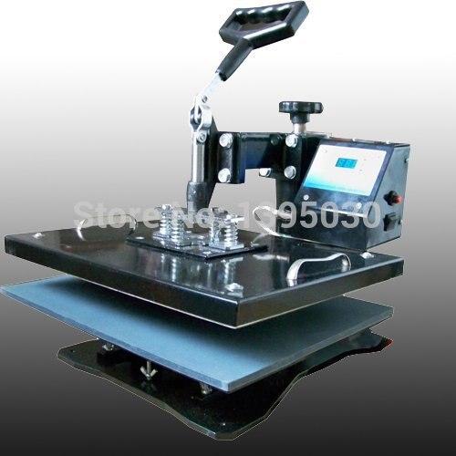 T-shirt Heat Transfer Machine T-shirt Hot Press / 30 * 38cm Mobile Phone Case / Moving Head Thermal Transfer Sublimation Machine