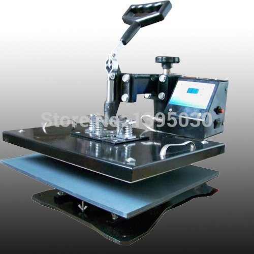 T-shirt Heat Transfer Machine T-shirt Hot Press / 30 * 38cm Mobile Phone Case / Moving Head Thermal Transfer Sublimation Machine cheap manual swing away heat press machine for flatbed print 38 38cm