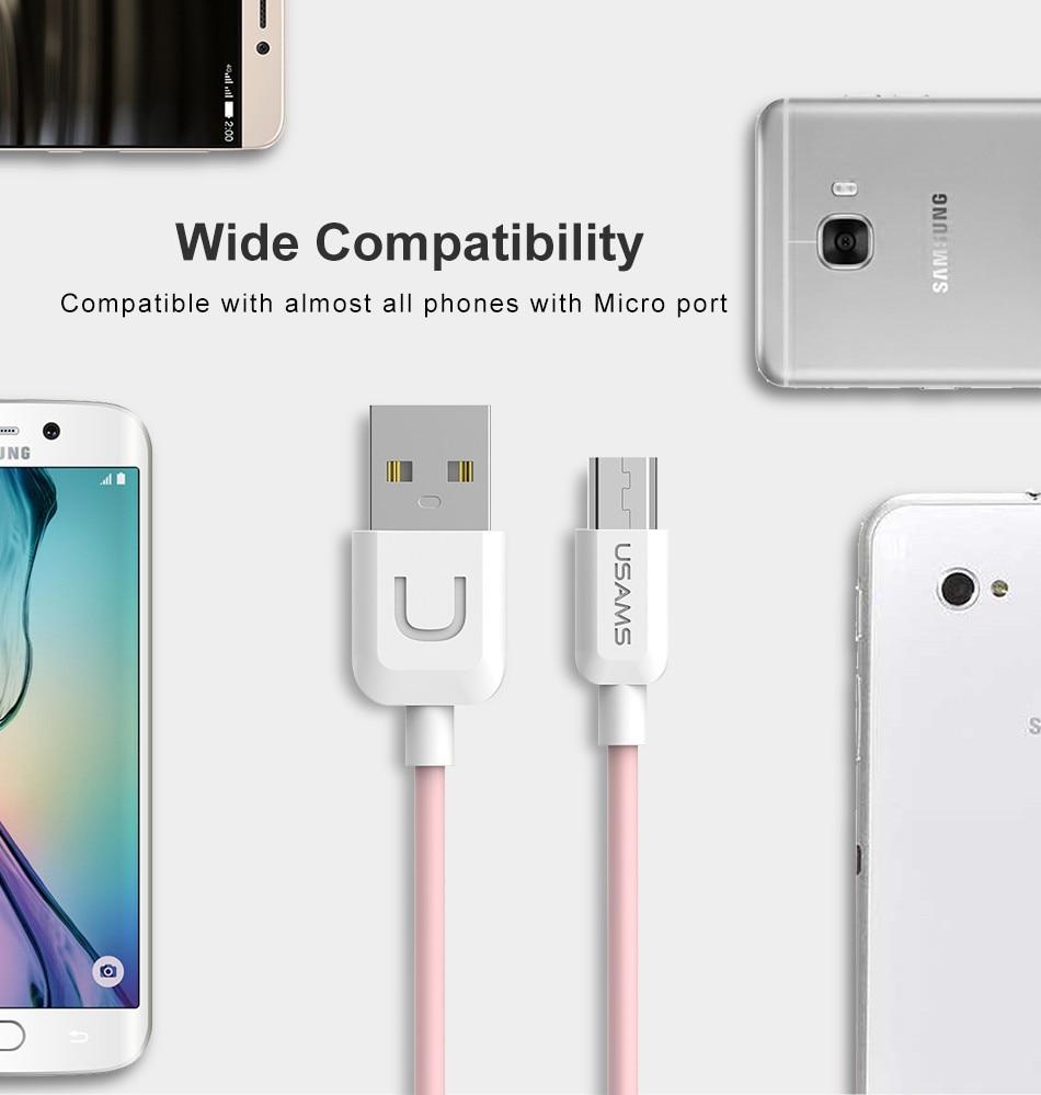 Lade Usb Kabel Für Iphone X 8 7 6 6 S Puls 5 5 S Se Usams Usb Kabel Typ C Kabel Micro Usb Kabel Für Samsung Xiaomi Huawei Lg Handy Kabel