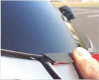 Car Rear Trunk Tailgate Glass Edge Sealer Seal Groove Trim For Mazda CX 5 CX5 2012