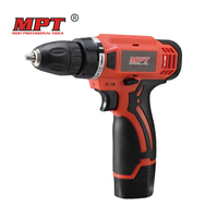 MPT 12 V Rechargeable Lithium Battery Hand Electrical Drill Charger Cordless Screw Driver Electric Screwdriver Power