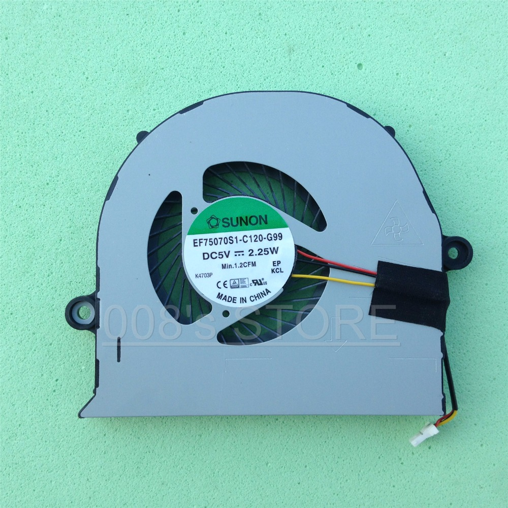 New CPU Ventilador Cooler Para ACER E5-571 571G 572 571 P 571PG 511 521 523 573 574 575 471G 471 P V3-572 E5-471 572G EF75070S1-C120-G99