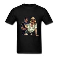 2017 New Funny Tee Cute T Shirts Homme GTA V Men Women 100 Cotton Cool Tshirt