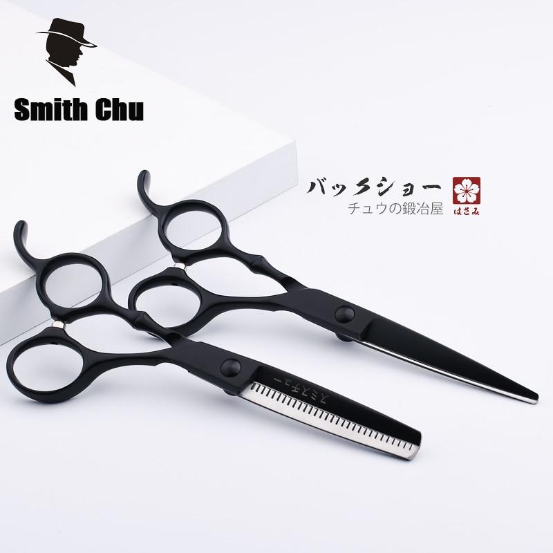 Alta calidad 6 pulgadas tijeras de peluquería 440C acero inoxidable - Cuidado del cabello y estilo - foto 4