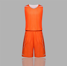 17 summer double wear men's basketball suit sets wholesale two sides mesh basketball shirt breathable breathable sweat suit men
