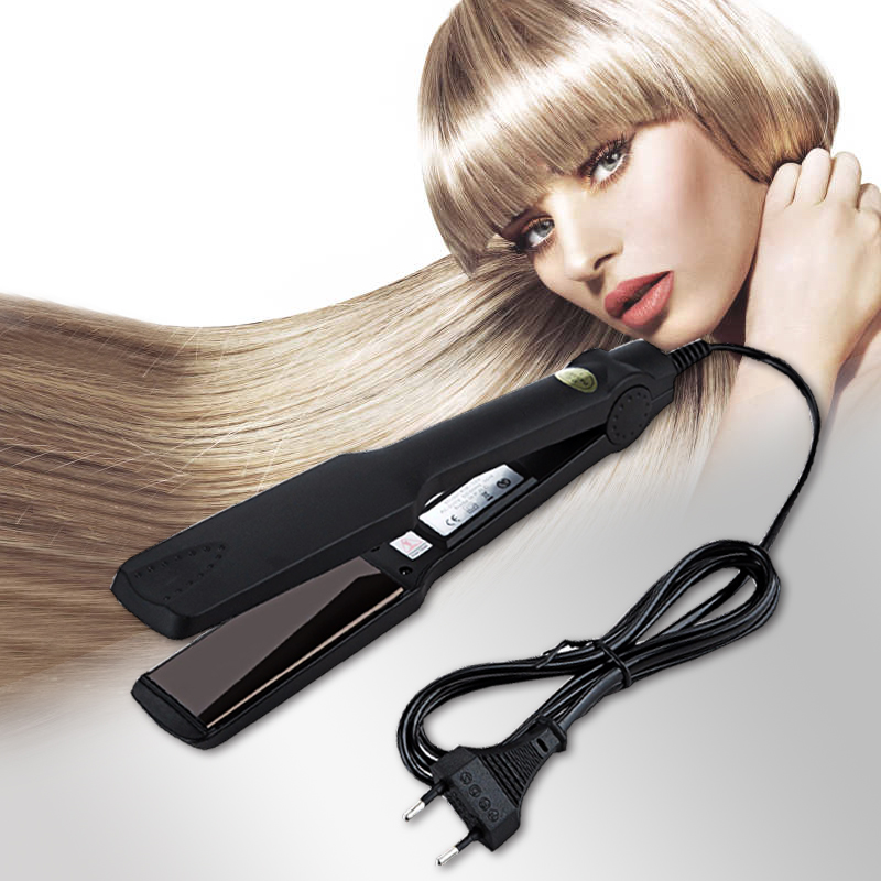 Kemei Fast Heating New Flat Iron Straightening Irons Styling Tools Professional Hair Straightener Free Shipping hair irons  4
