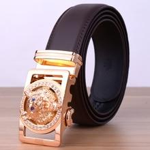 Hot New Brand DesignerHigh Quality Automatic Belt Men Leather