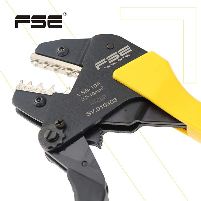 Купить с кэшбэком FSE Crimping Wire Plier Tool Cable Cutter Crimper Kablo Kesici Pliers Tools Crimp Alicate Alicate Crimpador Alicates crimp