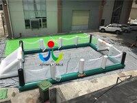 Популярные Дизайн надувной футбольный суд поле площадка надувные мыло футбол Футбол поле команды спортивные игры суды