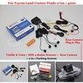 Для Toyota Land Cruiser Prado 2700/4000 Автомобилей Датчики Парковки + Камера Заднего вида = 2 в 1 Видео/Сигнализации Парковочная Система