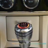 Free Shipping Red LED Light 5MT 6MT Car Gear Knob