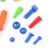 34 unids/set papel herramientas de reparación set pretend play toy simulación de plástico llave de martillo herramienta destornillador kit niños jugar a las casitas de juguete