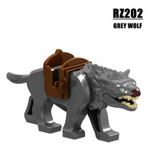 New Hobbit Lord of the Rings Wolf Building Blocks Knight Wolf Horse Wolf Single Sale Legoingly Bricks Action Kids Toys For Gift(China)