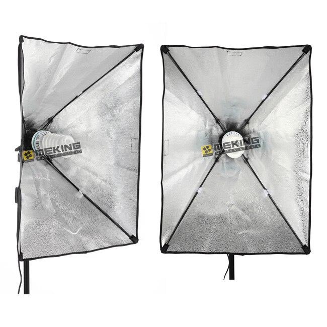 Photo Studio Kit Photography Lighting 2PCS Lamp Holder +2PCS* 50*70CM Softbox +2PCS*2m Light Stand Photo Soft BoxPhoto Studio Kit Photography Lighting 2PCS Lamp Holder +2PCS* 50*70CM Softbox +2PCS*2m Light Stand Photo Soft Box