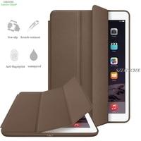 Original 1 1 Ultra Slim Smart Cover For IPad 9 7 New 2017 Modle PU Leather