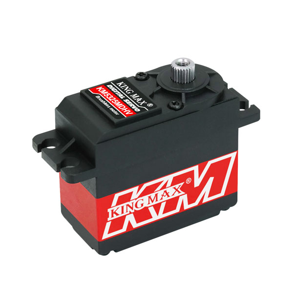 Superior Hobby KingMax KM5325MDHV--61g 25kg.cm,digital,high voltage,standard servo superior hobby jx pdi hv5212mg high precision metal gear full cnc aluminium shell high voltage digital coreless short servo