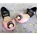 New summer sweet girls  jelly cartoon sandals beach shoes