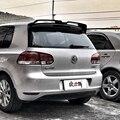 Für VW Golf 6 Spoiler ABS Material Auto Hinten Flügel Primer Farbe Heckspoiler Für Volkswagen MK6 6 Spoiler 2010 -2013