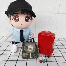 20 см кукла использование кукла сумка набивка плюшевый кукольный рюкзак сумка