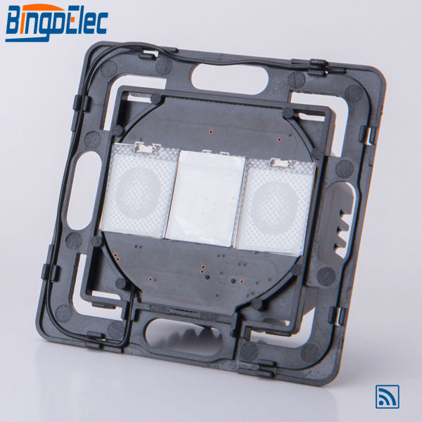 Full Range DIY Parts 1gang 1way Remote Touch Control Light Switch Part Without No Panel