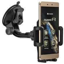 360 Rotary Windshield Glass Car holder Mount for Huawei Ascend P8 Lite P9 Max Mate 8 Honour Phone GPS Universal Suction Stand
