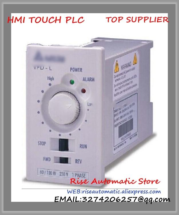 VFD-L Inverter AC motor drive 1 phase 220V 40W 0.28A 120Hz new VFD40WL21A Delta