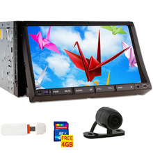 GPS Radio Movie iPod AMP Autoradio Video 3D Touchscreen Car Stereo Navigation MP4 In Dash Logo DVD Player Map+CAM+3G