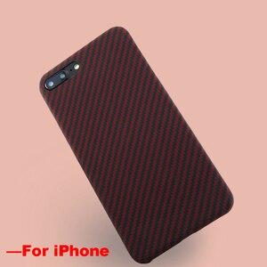Image 4 - Ультратонкий цветной чехол из арамидного волокна для iPhone X, матовый резиновый чехол из углеродного волокна для iPhone 7 8 7 Plus 8 Plus