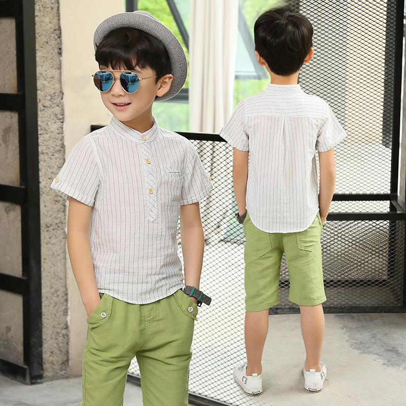 e6c295a34 Chidlren Clothing Set 2018 Summer Baby Boy Clothes 5 6 7 8 9 10 11 ...