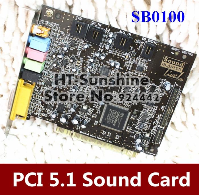 original sound blaster live 5 1 sb0100 pci sound card for creative rh aliexpress com User Manual Template Manuals in PDF