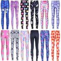 2016 New Leggings Fashion Doctor Who TARDIS Printed Woman Leggins Fitness Black Milk Pencil Pants 12 Colors To Choose