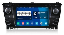 S160 Android 4.4.4 CAR DVD player FOR TOYOTA COROLLA 2014 car audio stereo Multimedia GPS Head unit