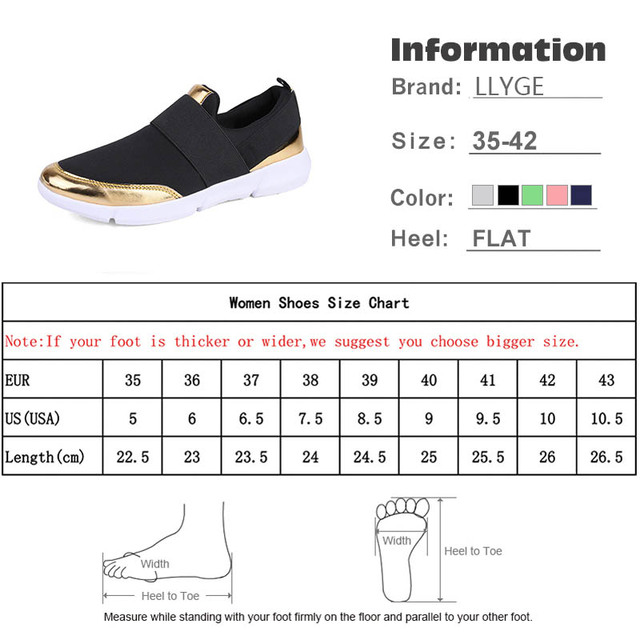 Spring Autumn Women Slip On Loafers Ladies Casual Comfortable Flats Female Breathable Stretch Cloth Shoes Fashion Zapatillas 5