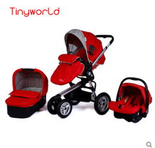 Leybold Baby Stroller Baby Car Light Inflatable Wheel Baby Stroller Buggiest Trolley 3 In 1 strollers