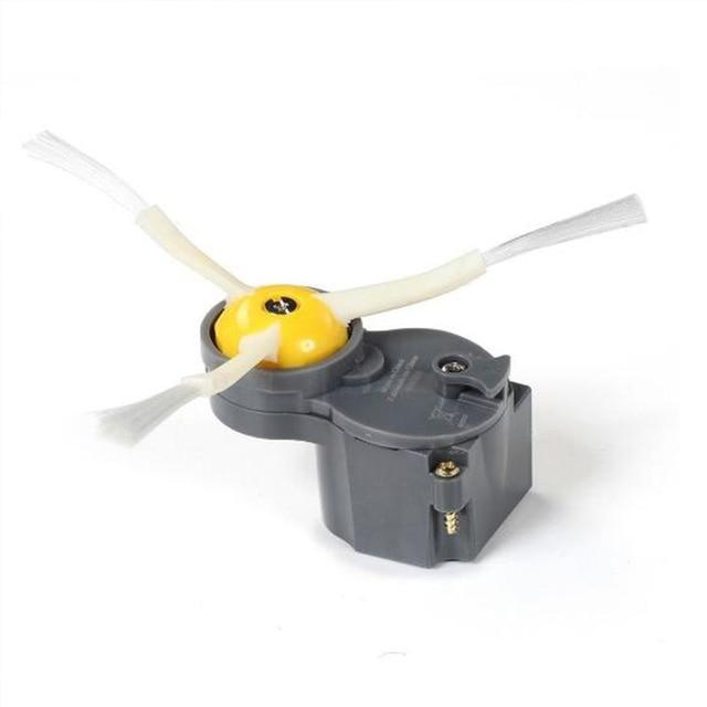 Nâng Cấp Thích Hợp Cho Irobot Roomba 500/600/700/800 Series Bên Bàn Chải Động Cơ Mô Đun 870 880 760 770 780 500 600 Xám/Xanh Dương 700 595