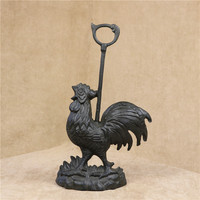 Cast Iron Rooster Tissue Paper Stand Decorative Metal Cock Table Napkin Holder Daily Use Houseware Accessories Furnishing Craft
