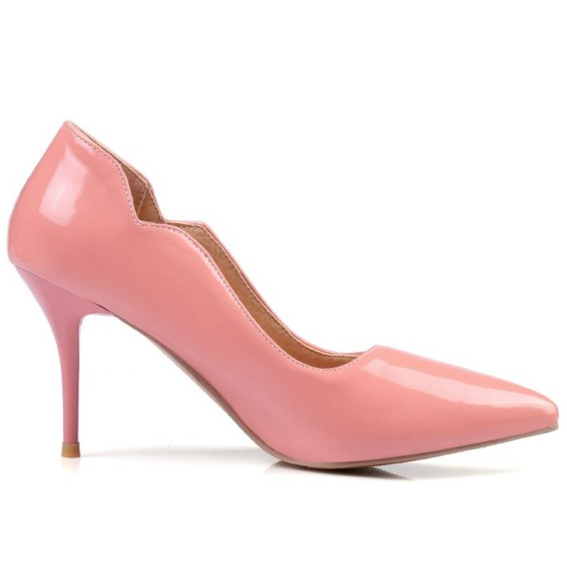c87549ddc3d MAZIAO Brand Shoes Woman High Heels Pumps Red High Heels 8CM Women Shoes  High Heels Wedding Shoes Pumps Black Nude Shoes Heels-in Women s Pumps from  Shoes ...
