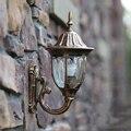 Модные европейские настенные бра  наружные лампы для балкона  водонепроницаемые винтажные Настенные светильники в деревенском стиле  ...