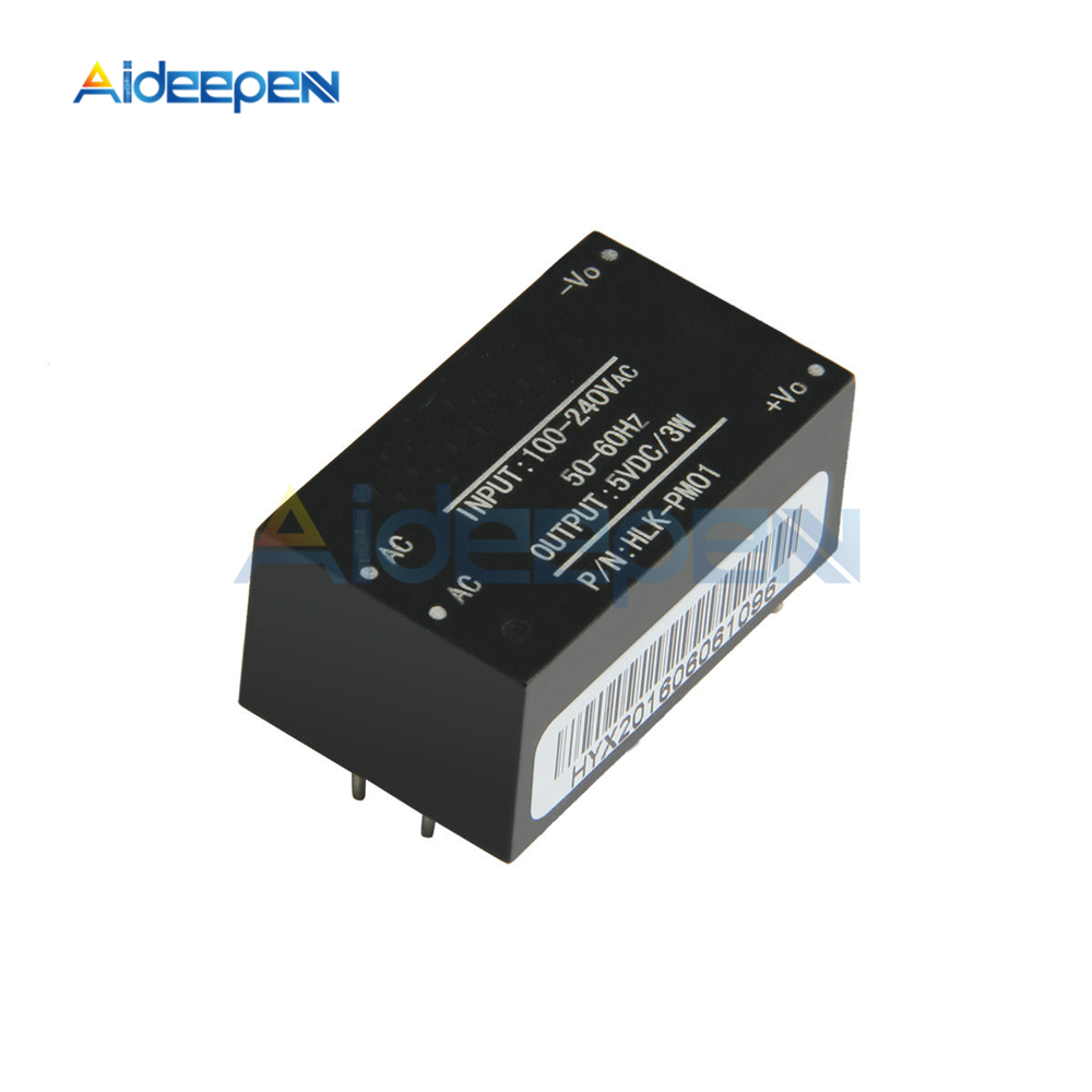HLK-PM01 AC-DC 220V to 5V Mini Power Supply Module Intelligent Household Switch Power Supply Module
