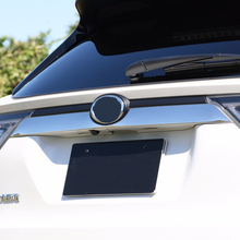 JY For TOYOTA HARRIER 2014 Rear Emble Tailgate Trim SUS304 Stainless Steel Car Styling Cover Accessories