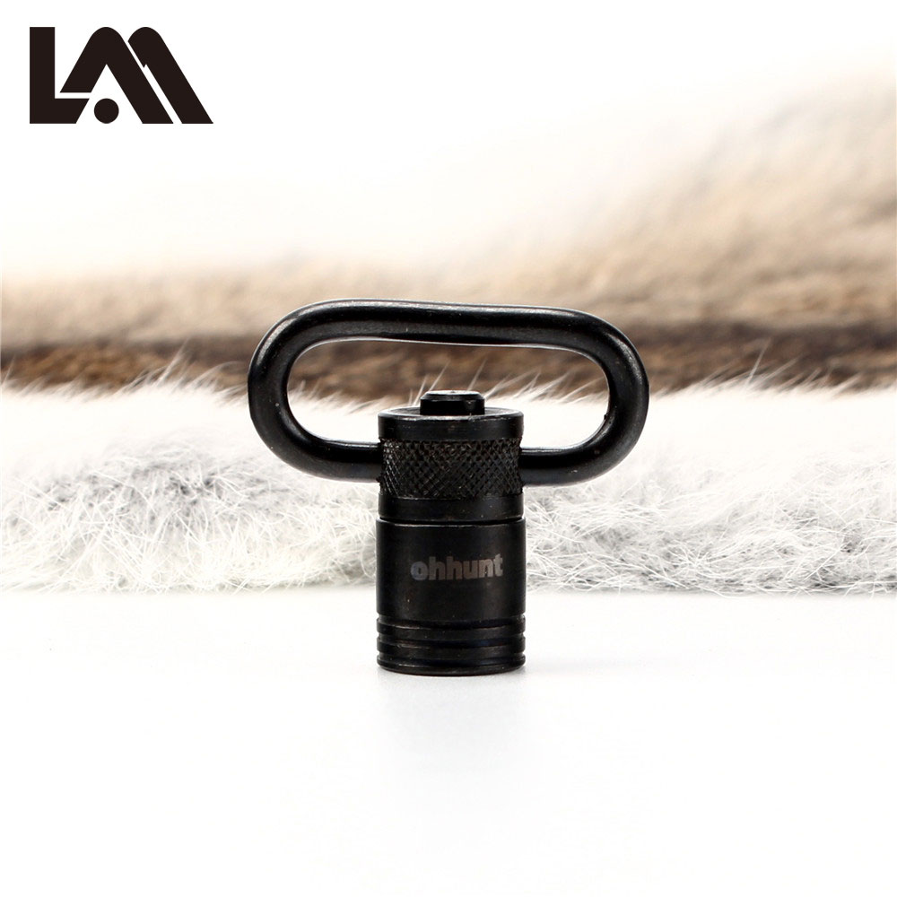 Lambul Hunting Accessories QD Push Button Detachable Tactical Gun Sling Swivels for Most Bolt Action Rifle Free Shipping
