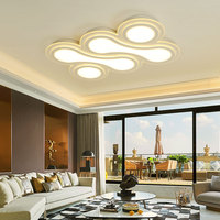 Post Modern Ceiling Light LED Bowling Super Thin And Simple Fashion Atmosphere Living Room Ceiling Lamps