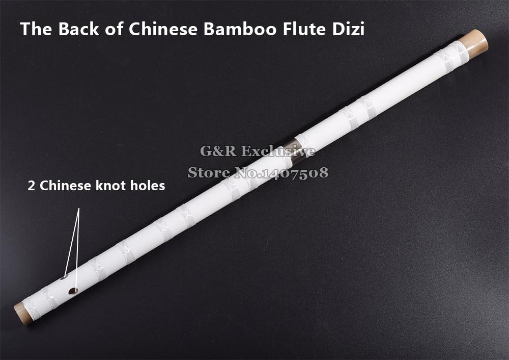 Китайский бамбуковый флейта Dizi традиционный поперечный Bambu Flauta духовой музыкальный инструмент для начинающих C/D/E/F/G ключ белый подарок