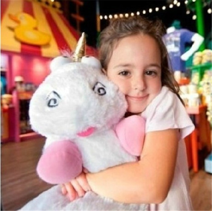 "16"" 40cm Fluffy Unicorn Plush Doll Toy Kids Toys New Brinquedos Soft Stuffed Animal Plush Toys Dolls"