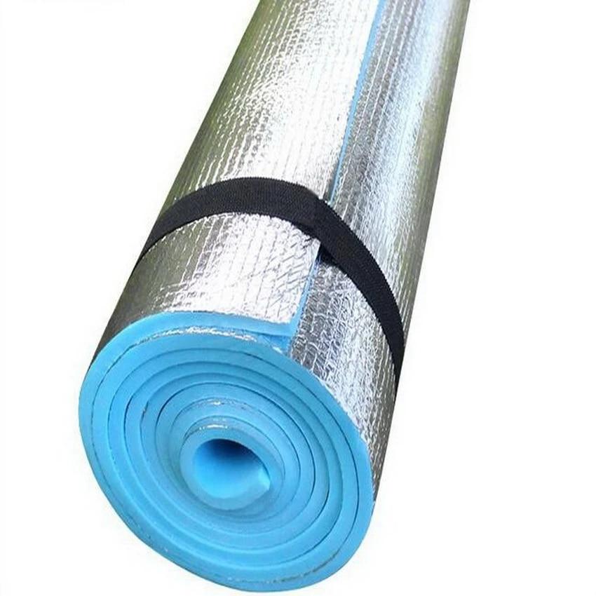 2016 tapis de camping en plein air tapis de tente double tailles film en aluminium eva impermeable coussin isolation thermique tapis de sol tampon en