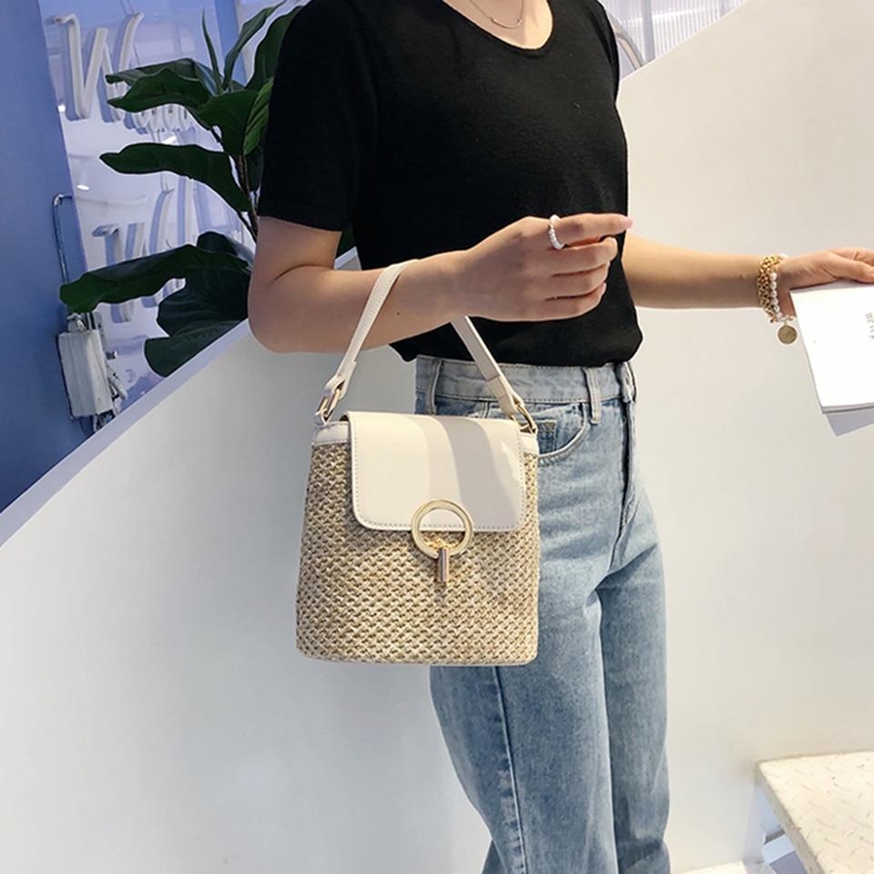 Straw Bucket Bag (20)