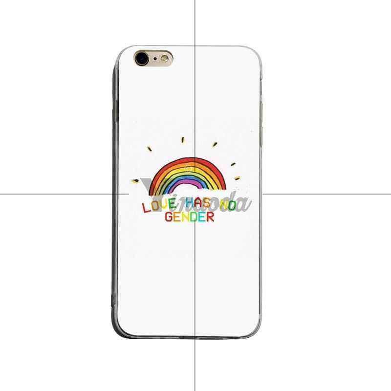 Yinuoda Gay lesbienne LGBT arc-en-ciel fierté ART chaud mode amusant dynamique téléphone étui pour iphone XSMax X XS XR 7 7 Plus 8 8 plus 6 s 6 plus