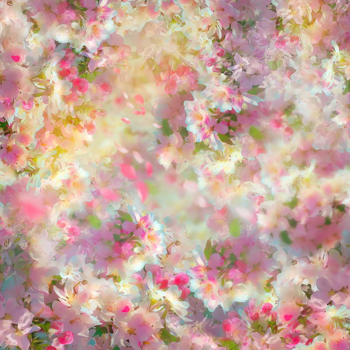 Allenjoy Photography Backdrops Romantic Aesthetic Pink Flowers Photo