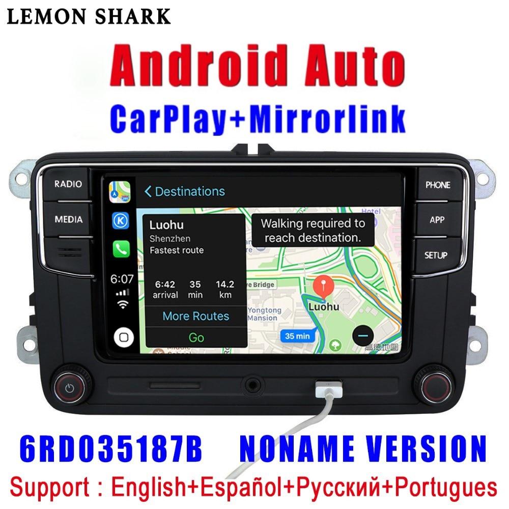 Image 5 - RCD330 Plus RCD330G Carplay Android Auto  Noname 6RD 035 187B Car  Radio MIB For VW Golf 5 6 Jetta MK5 MK6 CC Tiguan Passat Polo-in Car Radios from Automobiles & Motorcycles
